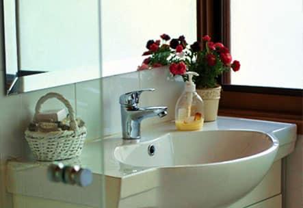 Clean Restoom Interior